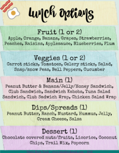 Back-to-School Lunch Options