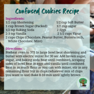confused chip cookie recipe