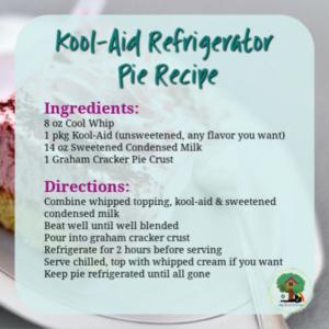 refrigerator pie recipe